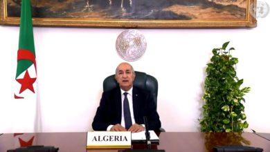 Photo of رئيس الجمهورية عبد المجيد تبون : الجزائر تسير بخطى ثابتة نحو ترسيخ الديمقراطية وتكريس دولة القانون