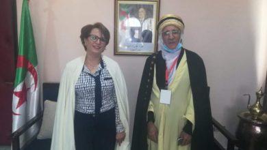Photo of وزيرة الثقافة تستقبل الفنان عبد الحميد بوزاهر