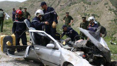 Photo of وفاة 5 أشخاص واصابة 190 آخرين في حوادث مرور خلال 24 ساعة الاخيرة