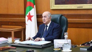 Photo of رئيس الجمهورية يترأس غدا الأحد اجتماعا لمجلس الوزراء