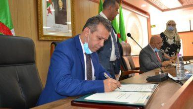 Photo of التلفزيون الجزائري يبرم اتفاقية تعاون مع وزارة المجاهدين وذوي الحقوق حول مشروع قناة الذاكرة