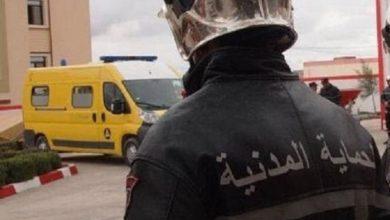 Photo of Une explosion de gaz cause des blessures et brûlures à 8 personnes à El-Hamiz