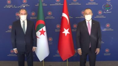 Photo of وزير الشؤون الخارجية السيد صبري بوقدوم يتحادث بتركيا مع نظيره التركي