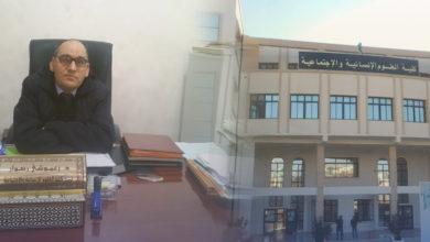 Photo of عميد كلية العلوم الإنسانية والاجتماعية بجامعة البليدة (2) يكشف للموقع الإخباري للتلفزيون الجزائري تفاصيل البروتوكول الصحي المعتمد في استئناف الطلبة للأنشطة البيداغوجية حضوريا