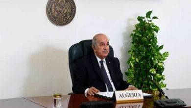 Photo of Le president de la république : L'Algérie avance à pas sûrs vers la consécration de la démocratie et de l'Etat de droit