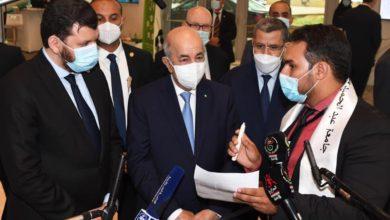 Photo of رئيس الجمهورية يدعو الكفاءات الشابة من أبناء الجالية الوطنية بالمهجر إلى الإستثمار في الجزائر
