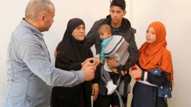 Photo of ترحيل عائلة الفقيدة شيماء إلى مسكن جديد ببرج البحري