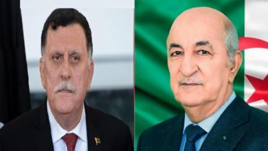 Photo of Le Président de la république reçoit un appel téléphonique de M. Faïz Serradj