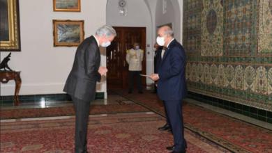 Photo of Le Président de la république reçoit les lettres de créance de trois nouveaux ambassadeurs