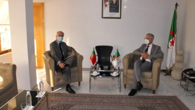 """Photo of وزير الصناعة """"فرحات آيت علي براهم"""" يستقبل سفير البرتغال بالجزائر"""
