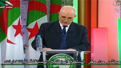 Photo of رئيس السلطة الوطنية المستقلة للإنتخابات نسبة المشاركة الأولية على الساعة 11:00 بلغت 5.88 بالمائة