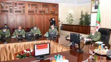 Photo of الفريق السعيد شنڨريحة يترأس اجتماع عمل مع المديرين العامين للمؤسسات الصناعية التابعة لمديرية الصناعات العسكرية