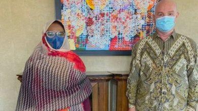 Photo of إسماعيل شرقي يتحادث مع سفيرة موريتانيا بأديس أبابا حول التحديات الأمنية في الساحل