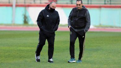 Photo of Belmadi inspecte le stade Tchaker de Blida