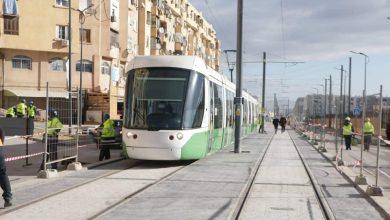 Photo of Premiers essais techniques de la 2ème tranche de la ligne d'extension du tramway a constantine