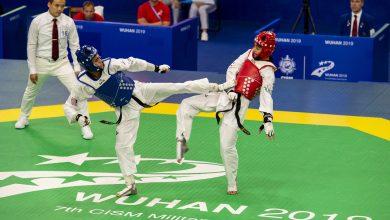 Photo of Military sport: Taekwondo contest kicks off