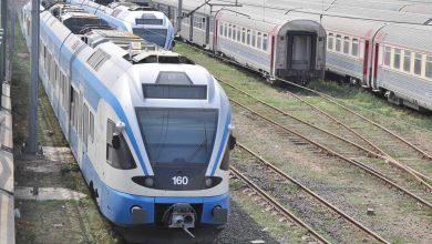 Photo of بدء الرحلات التجريبية عبر خط السكة الحديدية تيسمسيلت – بوغزول