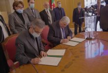 Photo of Culture Ministry and Algerian Confederation of Employers ink partnership agreement.