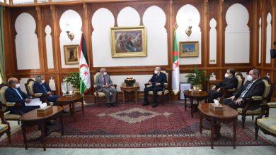Photo of Le Président de la république reçoit son homologue sahraoui