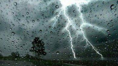 Photo of Des averses orageuses sur l'Ouest et le Sud-Ouest du pays à partir de mardi