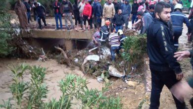 Photo of تقلبات جوية: وفاة 4 أشخاص جرفتهم مياه وادي  مكناسة بولاية الشلف