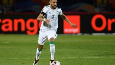 """Photo of Mahrez joins Bensaoula, in the historical ranking of """"the greens"""" scorers."""