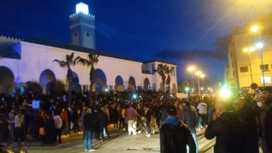 Photo of Morocco: Protests in Fnideq demanding the opening of mosques and authorities disperse demonstrators