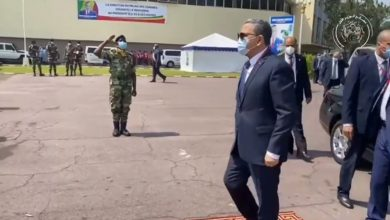 Photo of PM Abdelaziz Djerad participates in Brazzaville in swearing-in ceremony of Congolese President Denis Sassou-Nguesso