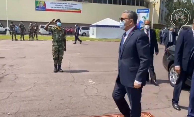 Photo of السيد جراد يشارك ببرازافيل في مراسم أداء اليمين الدستورية للرئيس الكونغولي