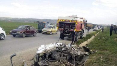 Photo of وفاة 35 شخصا وإصابة 1447 آخرين في حوادث مرور خلال أسبوع