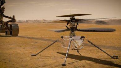 """Photo of ناسا: تأجيل موعد التحليق لمروحية """"إنجينيويتي"""" فوق المريخ"""