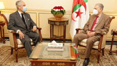 Photo of ڨوجيل يستقبل سفير الجمهورية البرتغالية بالجزائر
