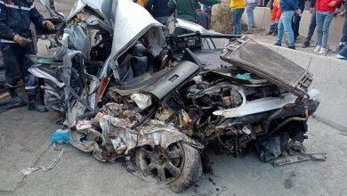Photo of البويرة: 3 جرحى في حادث اصطدام بين شاحنتين وسيارتين بالأخضرية