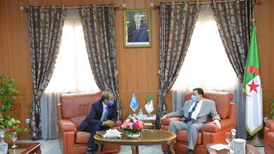 Photo of وزير التربية يستقبل ممثل مكتب الأمم المتحدة للطفولة بالجزائر