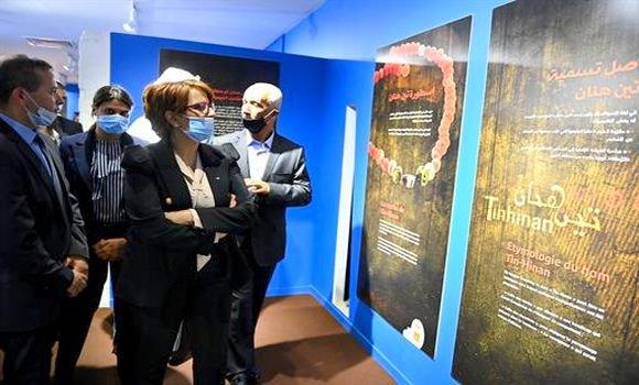 Photo of Inauguration d'une exposition sur la reine des Touaregs Tin Hinan