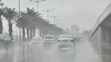 Photo of أمطار رعدية بشرق ووسط البلاد إلى غاية يوم غدٍ السبت