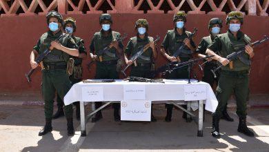 Photo of الجيش الوطني:توقيف 5 عناصر دعم للجماعات الإرهابية و تدمير 3 مخابئ للإرهابيين خلال الخمسة أيام الأخيرة