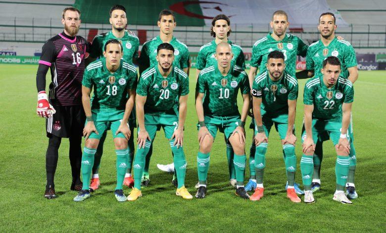 Photo of المنتخب الوطني لكرة القدم ينافس وديا منتخب موريتانيا يوم 3 جوان بالبليدة