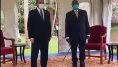 Photo of بوقدوم يمثل رئيس الجمهورية في مراسم أداء اليمين الدستورية للرئيس الأوغندي
