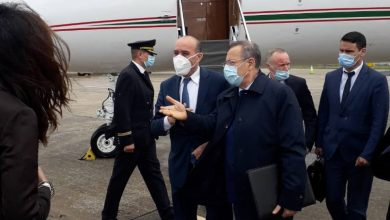 Photo of Minister Kamel Beldjoud arrives in Portugal for a ministerial conference on migration flows