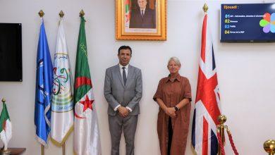 Photo of تير يتطرق رفقة سفيرة المملكة المتحدة إلى سبل تعزيز التعاون الثنائي
