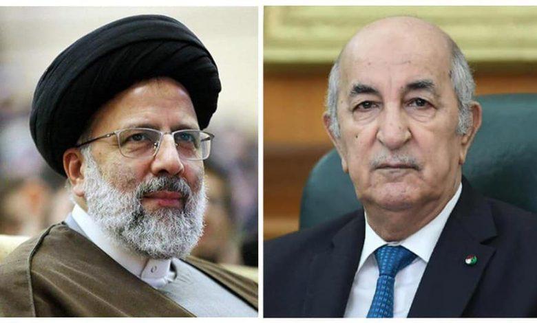 Photo of رئيس الجمهورية يهنئ السيد إبراهيم رئيسي على انتخابه رئيسا لإيران