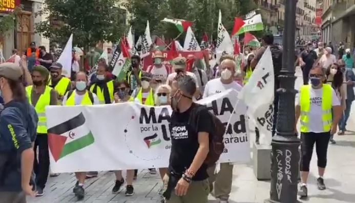 Photo of إسبانيا: مسيرة حاشدة تطالب بتمكين الشعب الصحراوي من حقه في تقرير المصير