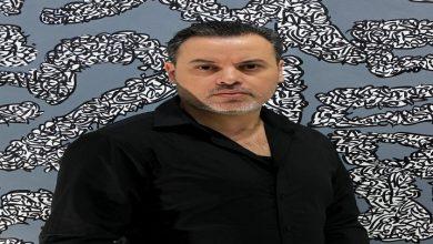 """Photo of إدراج لوحة للفنان التشكيلي حمزة بونوة في مجموعة متحف """"دافن ارت ميوزيوم"""" بالصين"""