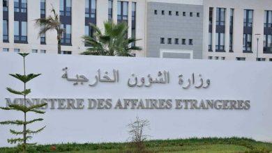 Photo of الخارجية الجزائرية: التصريح الدبلوماسي المغربي يخلط بين مسألة تصفية الاستعمار وبين ما هو مؤامرة تحاك ضد وحدة الأمة الجزائرية