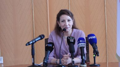 Photo of وزيرة الثقافة و الفنون وفاء شعلال تتسلم مهامها على رأس الوزارة