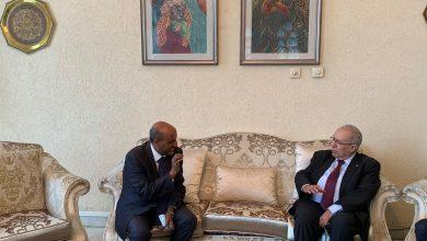 Photo of لعمامرة يبحث مع رئيس شركة الخطوط الجوية الإثيوبية فرص الشراكة  الثنائية