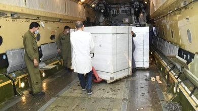 Photo of Arrival of one million doses of Coronavirus vaccine and 750 oxygen concentrators