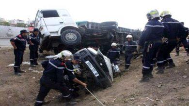 Photo of وفاة 7 أشخاص وإصابة 462 آخرين بجروح في حوادث مرور خلال الـ48 ساعة الأخيرة