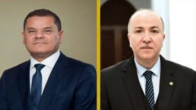 Photo of الوزير الأول يتلقى مكالمة هاتفية من رئيس حكومة الوحدة الوطنية لدولة ليبيا